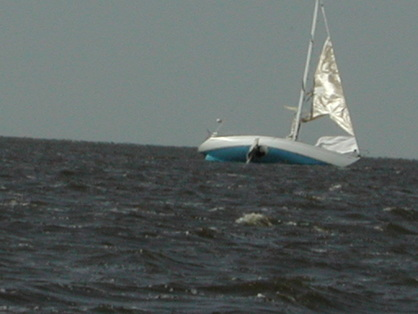hole in sailboat